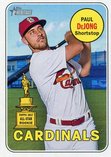 Photo of 2018 Topps Heritage #320 Paul DeJong