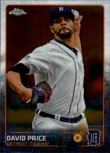 Photo of 2015 Topps Chrome #142 David Price