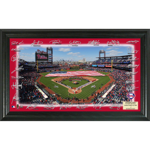 Photo of Serial #1! Philadelphia Phillies 2018 Signature Field