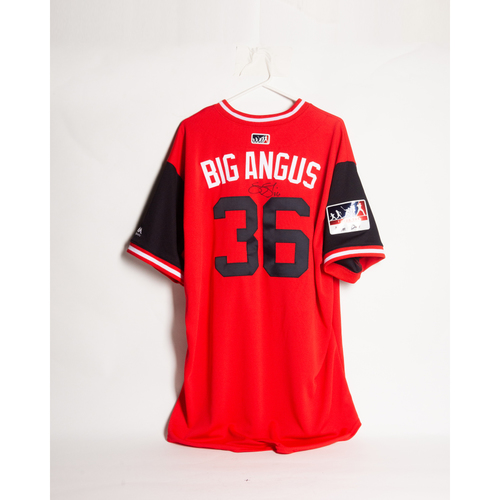 Photo of Autographed Sammy Solis Players' Weekend Jersey - Winning Bidder Can Pick Up Items Directly From Sammy on September 24, 2018