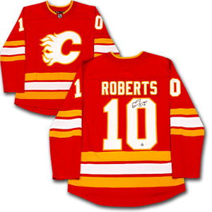 c295f074e Gary Roberts Autographed Calgary Flames JerseyGary Roberts Autographed Calgary  Flames Jersey