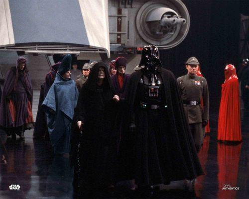 Emperor Palpatine, Darth Vader and Moff Jerrjerrod