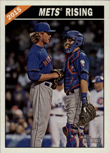 Photo of 2015 Topps Heritage Combo Cards #CC8 Kevin Plawecki/Noah Syndergaard