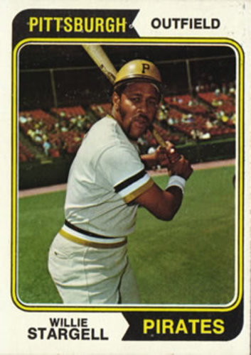 Photo of 1974 Topps #100 Willie Stargell