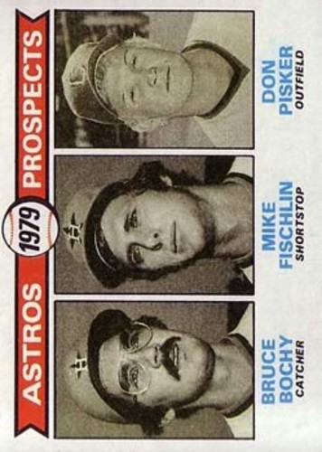 Photo of 1979 Topps #718 Bruce Bochy RC/Mike Fischlin RC/Don Pisker RC