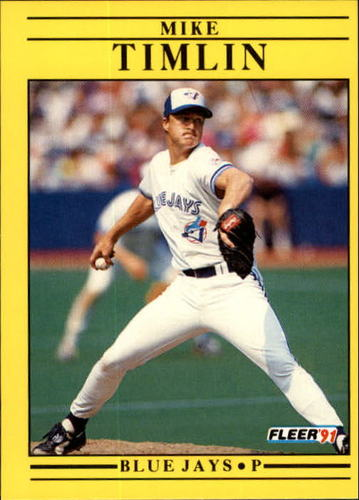 Photo of 1991 Fleer Update #68 Mike Timlin RC