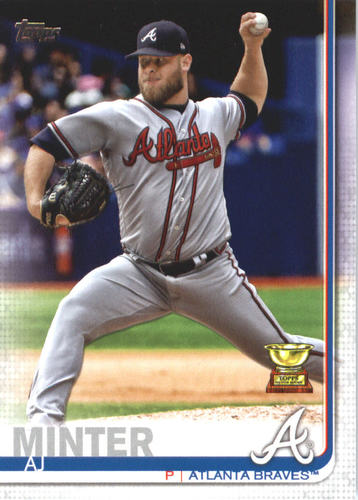 Photo of 2019 Topps #467 A.J. Minter