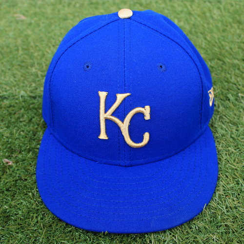 Photo of Game-Used Cap: Mike Montgomery (Size 7 1/4 - MIN @ KC - 9/27/19)