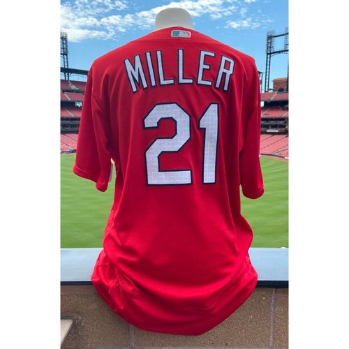 Photo of Cardinals Authentics: Team Issued Andrew Miller Batting Practice Jersey