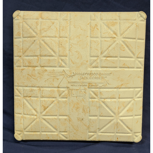 Photo of Game-Used 1st Base - 8/25/2019 - Los Angeles Dodgers v New York Yankees