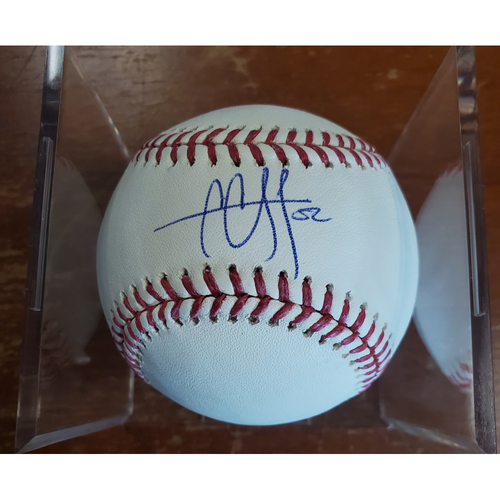 Photo of Autographed Baseball - C.C. Sabathia