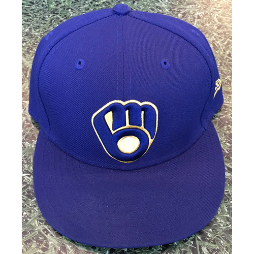 Photo of #59 2020 Team-Issued Milwaukee Brewers Cap