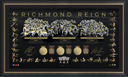 Photo of 2020 Dual Signed Premiership Trilogy Lithograph - Edition #20