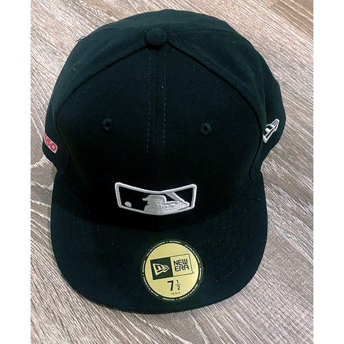 Photo of UMPS CARE AUCTION: Official Specialty MLB 150th Anniversary Umpire Base Cap, Size 7 1/2