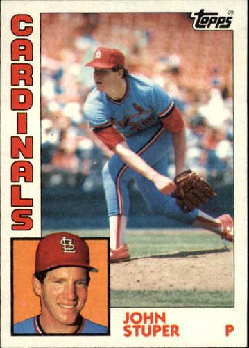 Photo of 1984 Topps #49 John Stuper