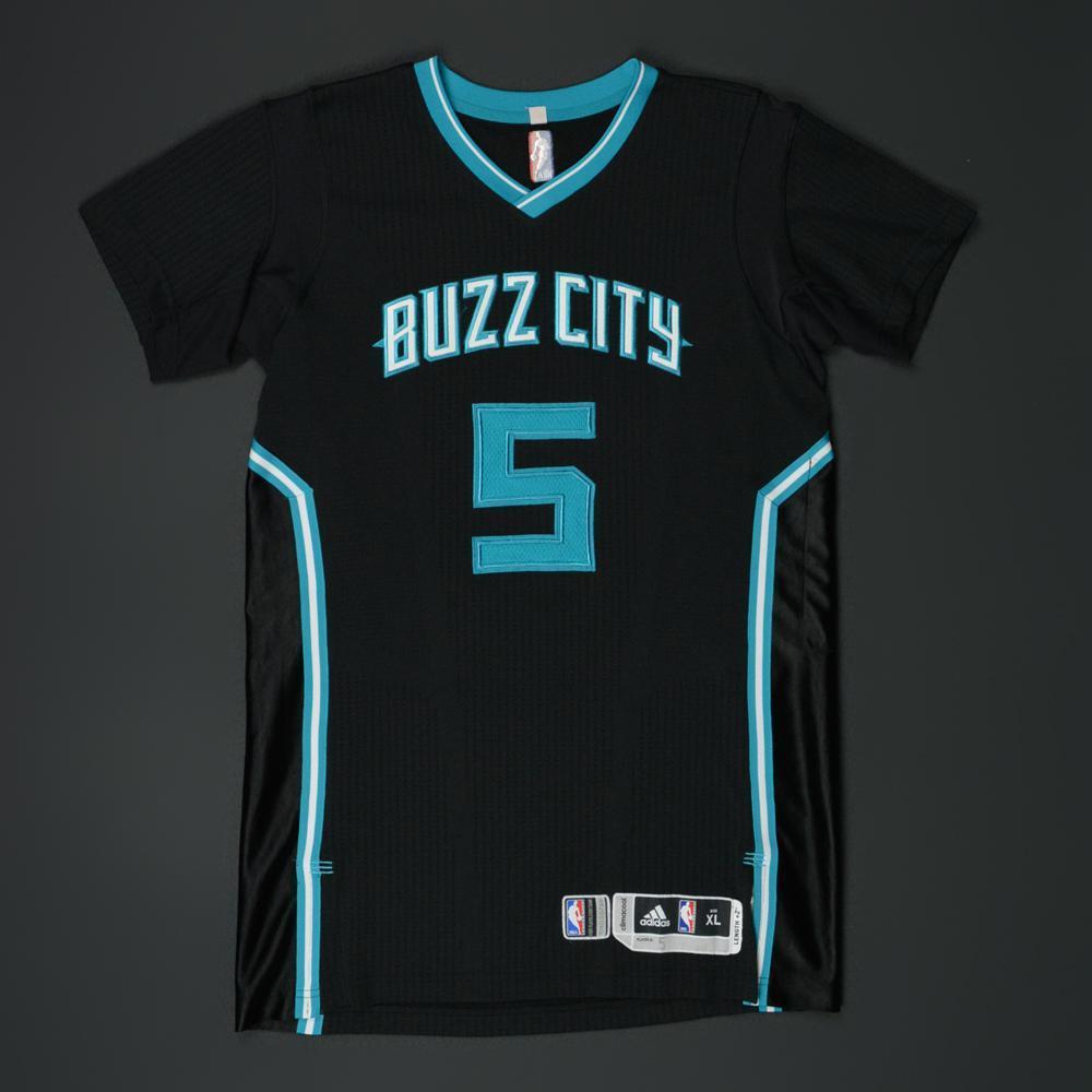 93fff64f116 ... greece nicolas batum charlotte hornets game worn buzz city pride jersey  e5664 77283