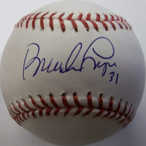 Photo of Brandon League Autographed Baseball