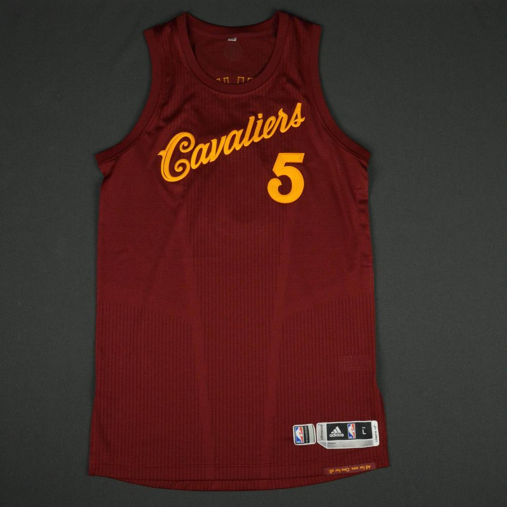 22d0cf1df82 JR Smith - Cleveland Cavaliers - NBA Christmas Day  16 - Game-Worn Jersey