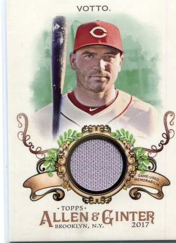 Photo of 2017 Topps Allen and Ginter Relics #FSRBJVO Joey Votto