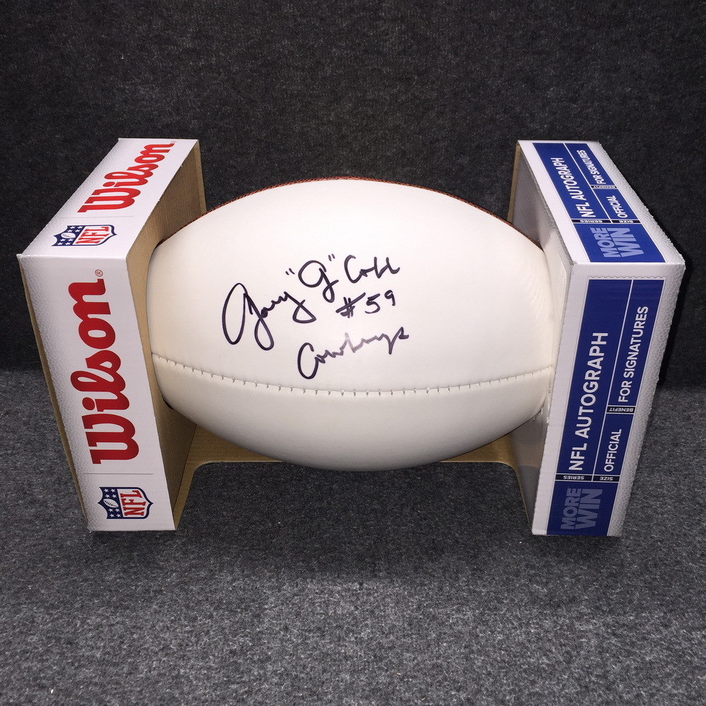 PCF - Cowboys Garry Cobb signed panel ball