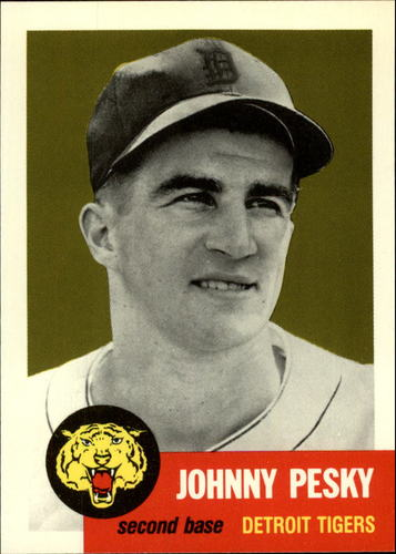 Photo of 1991 Topps Archives 1953 #315 Johnny Pesky
