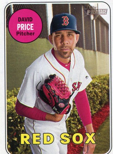 Photo of 2018 Topps Heritage #324 David Price