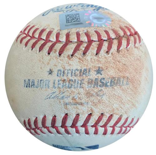 Photo of Game-Used Baseball from Pirates vs. Red Sox on 9/16/14 - Neil Walker Double