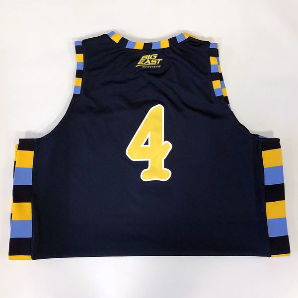 Photo of No. 4 Blue Marquette Jersey