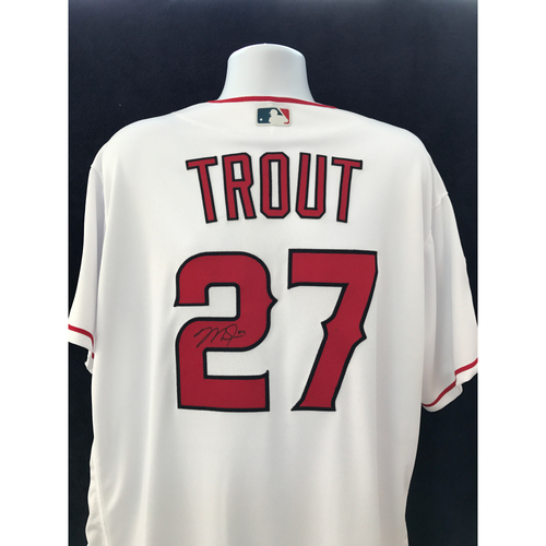 Photo of Mauer & Friends Kids Classic Charity Auction: Mike Trout Autographed Jersey - Not MLB Authenticated