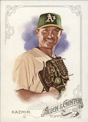Photo of 2015 Topps Allen and Ginter #180 Scott Kazmir