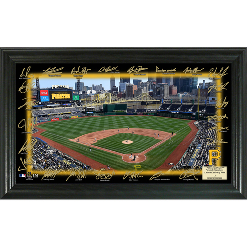 Photo of Serial #1! Pittsburgh Pirates 2018 Signature Field