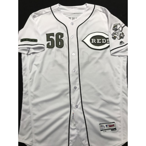 9d4dcdcf1 Photo of Ted Power - Game-Used - Military Appreciation Jersey (Worn  2018