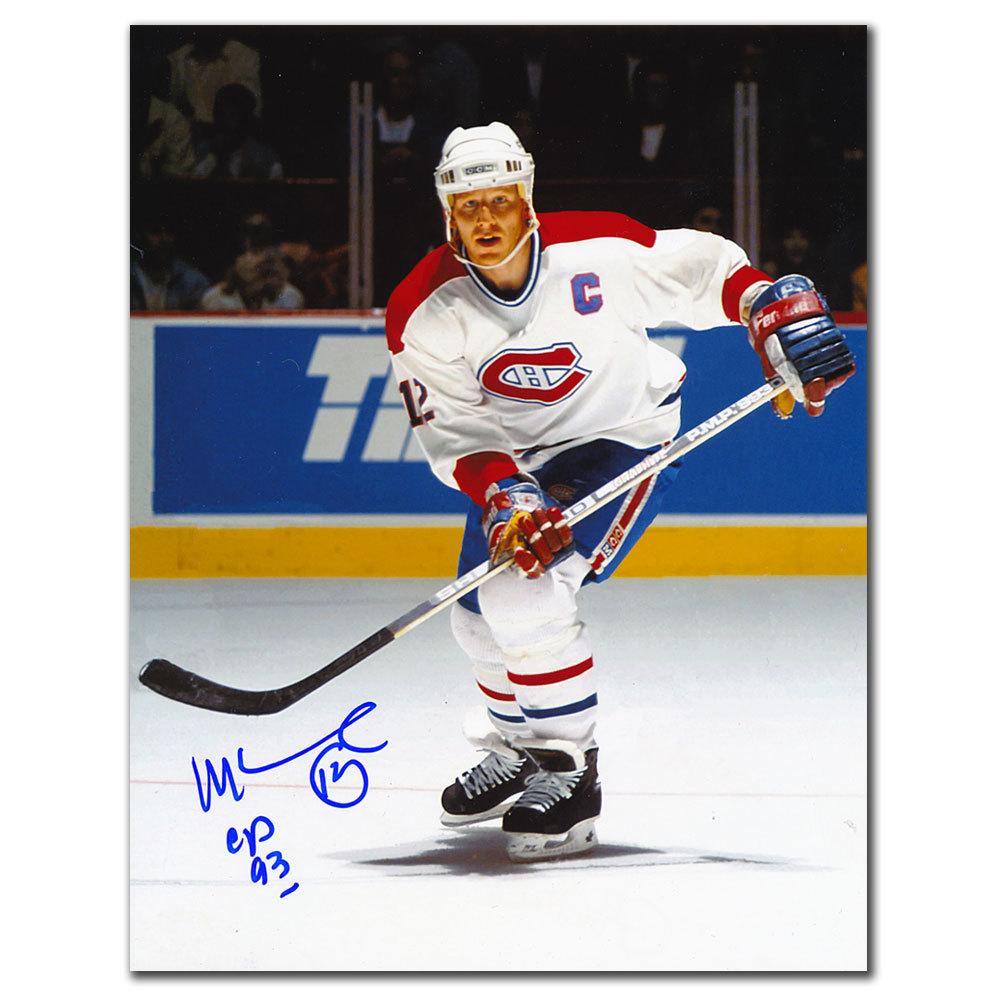 Mike Keane Montreal Canadiens CAPTAIN Autographed 8x10
