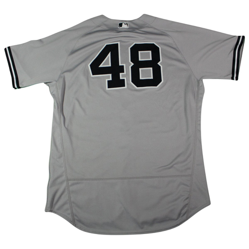 Photo of Tommy Kahnle New York Yankees 2018 Road Opening Day Game Used #48 Jersey (3/29/2018)