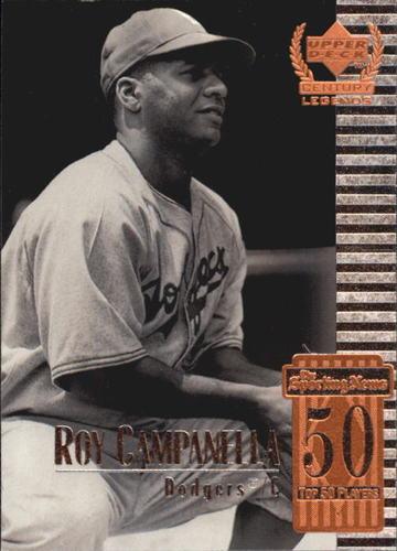 Photo of 1999 Upper Deck Century Legends #50 Roy Campanella