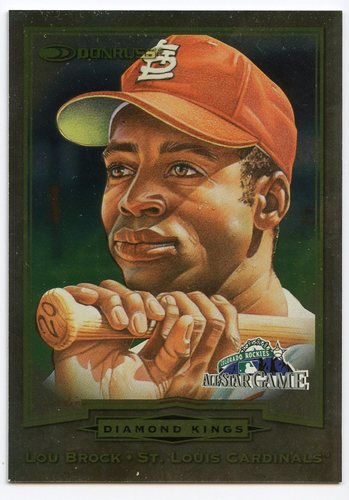 Photo of 1998 FanFest Brock #4 Lou Brock/Donruss