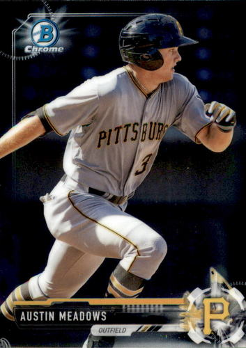 Photo of 2017 Bowman Chrome Prospects #BCP65 Austin Meadows