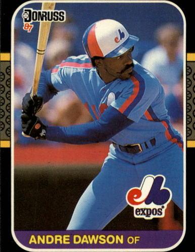 Photo of 1987 Donruss #458 Andre Dawson