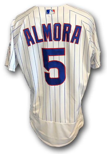 Photo of 12 Days of Auctions: Day 10 -- Albert Almora Game-Used Jersey -- Cardinals vs. Cubs -- 9/22/19 -- Size 42