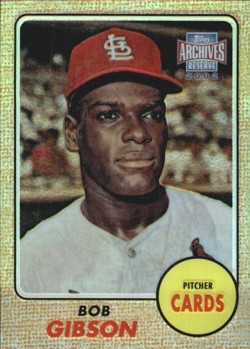 Photo of 2002 Topps Archives Reserve #14 Bob Gibson 68