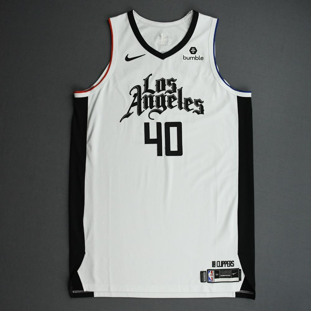 Ivica Zubac - Los Angeles Clippers - Game-Worn City Edition Jersey - 2019-20 Season