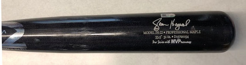 Photo of Jason Heyward Game-Used Broken Bat -- Corbin Burnes to Jason Heyward, Ground Out, Bot 1 -- Brewers vs. Cubs -- 7/25/20