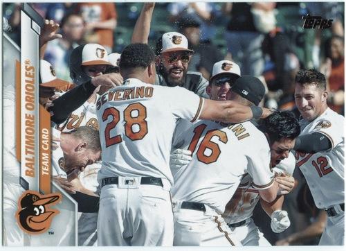 Photo of 2020 Topps #694 Baltimore Orioles TC