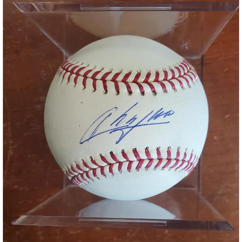 Photo of Autographed Baseball - Aroldis Chapman