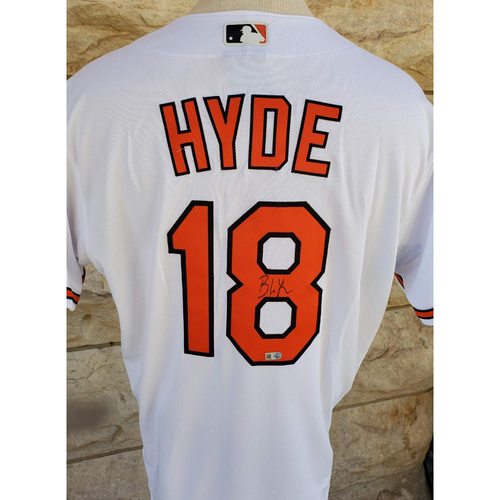 Photo of Brandon Hyde: Jersey - Autographed