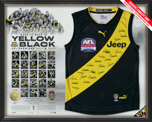 Photo of 2020 Premiers Team Signed Guernsey - Edition #19