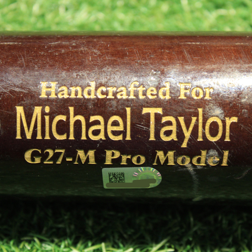 Photo of Game-Used Broken Bat: Michael A. Taylor #2 - 1 for 3 (Single) (KC@SEA 8/26/21)