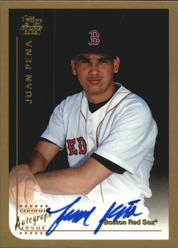 Photo of 1999 Topps Traded Autographs #T49 Juan Pena