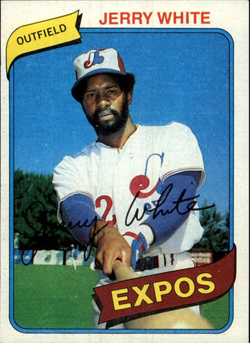 Photo of 1980 Topps #724 Jerry White