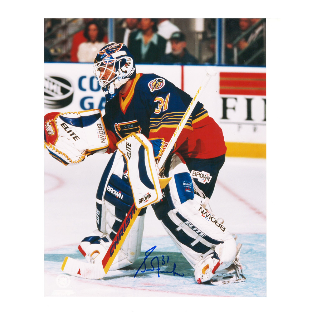 GRANT FUHR Signed St. Louis Blues 8 X 10 Photo - 70135